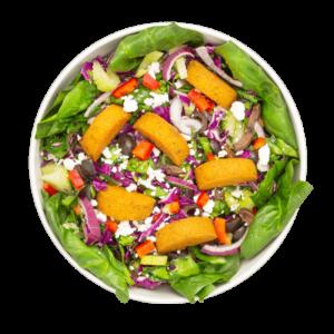 salad mediterrean falafel seed superfood