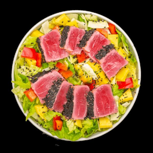 salad tuna tataki seed superfood-min