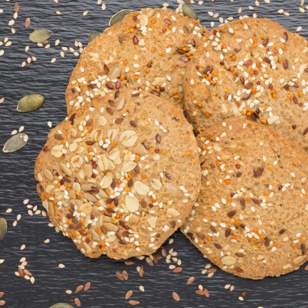 cookie multicereali con semi seed superfood